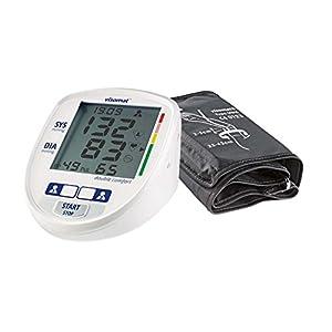 visomat double comfort – Blutdruckmessgerät Oberarm, präzise 2-fach Messung wie beim Arzt dank Mikrofonmanschette (23-43cm) höchste Messgenauigkeit