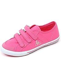 ca5f9d4498 Le Coq Sportif C3648 Sneaker Bimba Saint Malo Scarpa rosa Strappi Shoe Kid