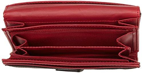 93b163c007 Desigual LENGÜETA BIRDLAND - Portafogli Donna, Rosso (3000), 15x10.50x3.50  cm (B x H x T)