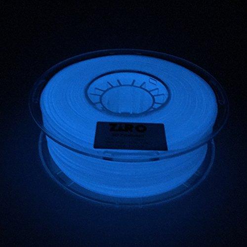 comprare on line Ziro 3D stampante filamento PLA 1.75mm Glow in the Dark color Series 1kg (1kilogram), Dimensional precisione +/-0.05mm prezzo