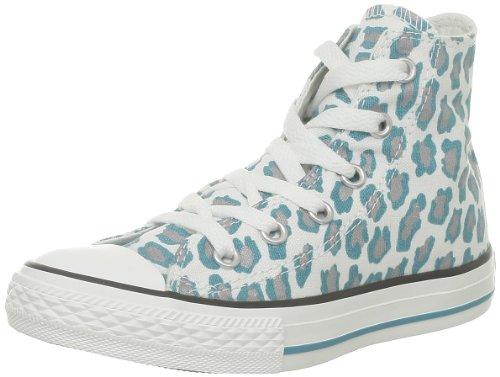 d Hi 291280-34-3, Unisex - Kinder Sneaker, Weiß (Blanc/Bleu/Gris), EU 35 (Kinder Converse Leopard)