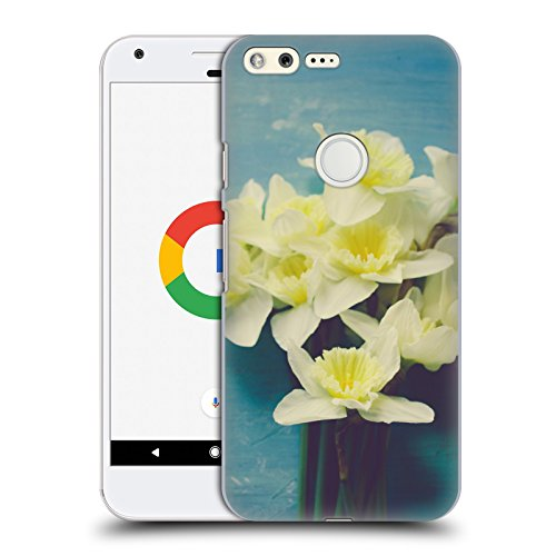 official-olivia-joy-stclaire-daffodil-bouquet-on-the-table-hard-back-case-for-google-pixel