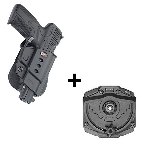 Fobus rotating roto tactical retention holster + Molle adapter attachment for FNH Five-Seven (doesn't fit the new FN 5.7 MK2 ) pistols Duty Belt Case