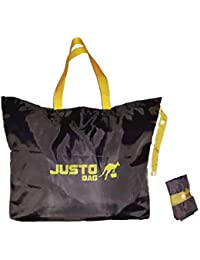 Justobag's Foldable Eco Friendly Supermarket Bag For Shopping Grocery Large Reusable Heavy Duty Polyster Washable...