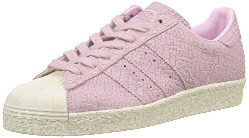adidas Superstar 80s, Zapatillas Altas para Mujer, Rosa Wonder Pink/Off White, 37 1/3 EU