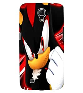 ColourCraft Angry Cat Design Back Case Cover for SAMSUNG GALAXY MEGA 6.3 I9200