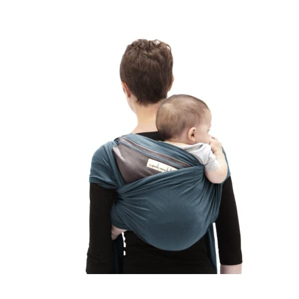 Je Porte Mon Bébé Baby Sling - Original - Peacock Blue/Candied Chestnut Je Porte Mon Bébé (JPMBB) Minimum age: 0 months Product description: the Je Porte Mon Bébé baby sling allows you to carry your baby in complete safety on your front, back or side. The JPMBB baby sling's special feature is that it can be tied up before you put in your baby This makes the sling very easy to use and above all highly practical for changing your baby's position, sitting down or removing him/her from the sling. The JPMBB baby sling is made from a fabric that guarantees comfort to both parent and baby, paying special attention to physiological needs. Certified Öko-tex100. Made in Europe. 2-year guarantee, seamless. 3