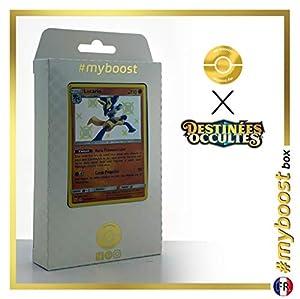 Lucario SV22/SV94 Variocolor - #myboost X Soleil & Lune 11.5 Destinées Occultes - Box de 10 cartas Pokémon Francés