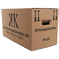 9 Profi Umzugskartons XXL - 2 wellig 640 x 300 x 340 mm