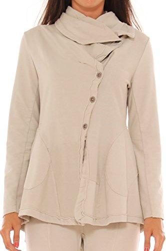 Freesketch - Sweat-shirt - Femme Jaune clair