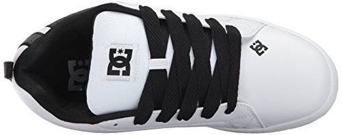 DC Shoes COURT GRAFFIK SE SHOE D0300927 Herren Sneaker White/Charcoal