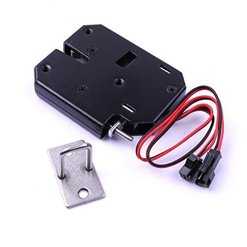 atoplee 1Stück DC 12V 2A intelligente Elektrische Tür Schloss für Datei Cabinet Tür