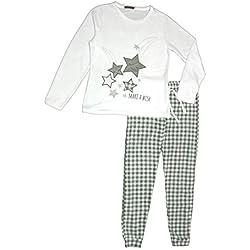 Pijama Mujer Térmico Polar Largo (Star, XL)