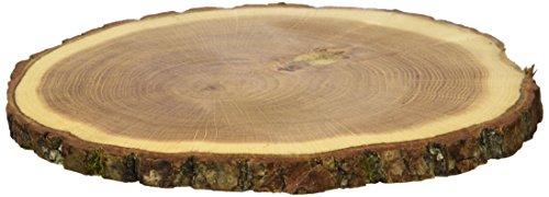 TREE4CAKE Coussinets d'assiette en Bois, chêne, 2 pièces, Marron Naturel