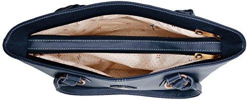 fantosy Women's Shoulder Bag Blue -FNB-195
