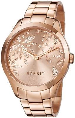 Esprit ES107282002 - Reloj de pulsera mujer, revestimiento de acero inoxidable