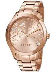 Esprit Damen-Armbanduhr Analog Quarz Edelstahl beschichtet ES107282002