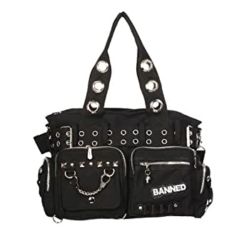 Banned Handtasche ROCK COP 754 black-black