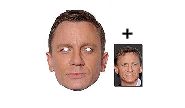 Daniel Craig berühmtheit James Bond Single Karte Partei ...