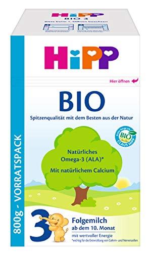 Hipp 3 Bio-Folgemilch, 1er Pack (1 x 800g)