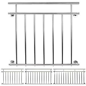 jago balustrade garde corps pour balcon 100 x 90 cm. Black Bedroom Furniture Sets. Home Design Ideas