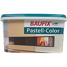 BAUFIX Pastell Color Wand Decken Farbe 5 Liter Matt Farbton Wahlbar Cremeweiss