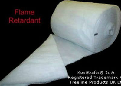 KosiKrafts® 18 Inch Width Weight Pond Filter Wool Koi Carp Pump Aquarium Pond Filter Media Medium Wool Floss. Various Lengths Available