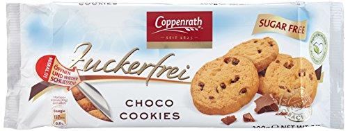 Coppenrath Choco Cookies zuckerfrei, 7er Pack (7 x 0.2 kg) -