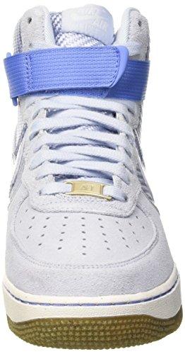 Nike Wmns Air Force 1 Hi Prm, Scarpe da Ginnastica Donna Viola (Porpoise)
