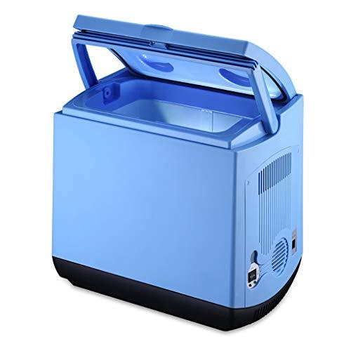 Car Refrigerator 25L Auto KüHlschrank Semiconductor Heizung Und KüHlbox Selbstfahrende Picknick Grill Frischhaltung Kleine KüHlschrank - Blau
