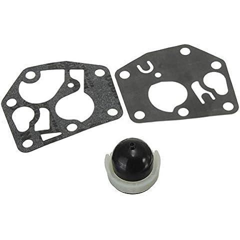Yongse Lampadina Primer & carburatore Carb Rebuild Kit Guarnizione Per F BRIGGS STRATTON & 694.395
