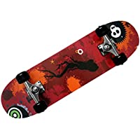 Skateboard - diseño - ABEC 7 Atlantic Rift - amortiguador de PU + PU de los rodamientos de ruedas de selección de colour naranja