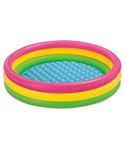 Intex Inflatable Water Pool 4 ft (diameter) Kids Fun / Bath Activity High Quality Water pool by Intex for fun activities!