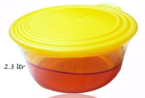 Zu Gehen Klare Kunststoff-container (TUPPERWARE Eleganzia Eleganza 2,3L., Food Container, Brotdose)
