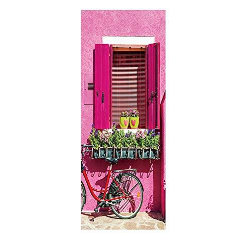 Amfirst Wandsticker Aufkleber Kinderzimmer Wandtattoo Wandaufkleber Schlafzimmer Kinder Blume Leuchtaufkleber Türaufkleber Dekorative Malerei Schlafzimmer Wohnzimmer TV Wanddekoration