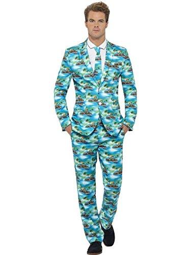 aloha Costume (Jacket Pant xl)-Neck - Aloha Pants
