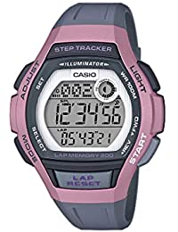 d67e42ba586f CASIO Reloj Digital para Mujer de Cuarzo con Correa en Resina  LWS-2000H-4AVEF