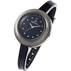 OPS Uhren Lux edition Damen Uhrzeit Schwarz - OPSPW-337