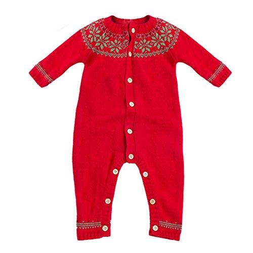 �rbis Kostüm kinderkostüme Baby Mädchen Jungs Strampler Body + HosenHut Outfits Set Rot 66 (Marienkäfer Halloween-kostüm Für Baby)