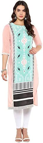 W for Woman Women's Crepe Straight K