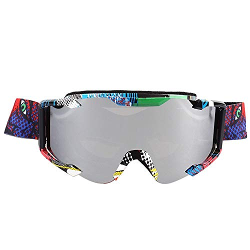 LinHut New Motocross Goggles Ciclismo MX off Road Helmet Sci Sport Gafas per Moto Dirt Bike Racing Goggles (Color : 9)