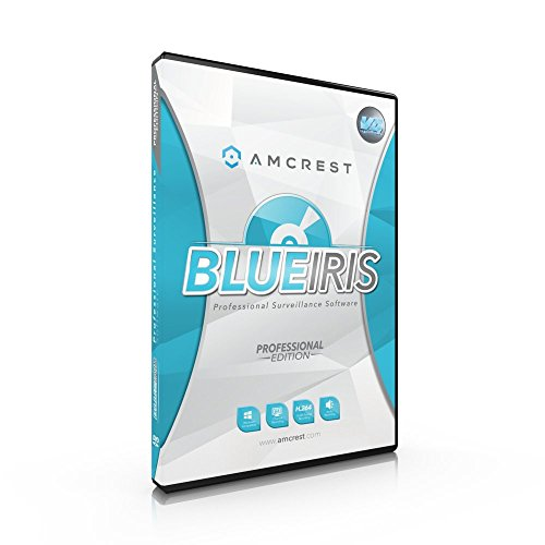 Foscam Blue Iris Professional, unterstützt viele IP-Kamera-Marken, einschließlich Foscam und Agasio, Zone Motion Detection, H.264-Kompressionsaufnahme, E-Mail und SMS-Benachrichtigungen. Auto-iris-security-kamera
