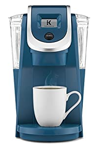 Peacock Blue : Keurig K250 Single Serve, Programmable K-Cup Pod Coffee Maker with strength control, Peacock Blue