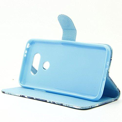 Coque pour Apple iPhone 6S Plus/ 6 Plus 5.5 Zoll,Housse en cuir pour Apple iPhone 6S Plus/ 6 Plus 5.5 Zoll,Ecoway Colorful imprimé étui en cuir PU Cuir Flip Magnétique Portefeuille Etui Housse de Prot ST-05