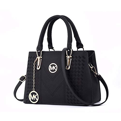 YTXY 2018 Frauen-Handtasche Damen Casual Bag Messenger Bag Schulter,Black