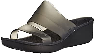 Crocs ColorBlock Wedge W Women Slip on W6