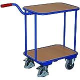 VARIOFIT Griffroller Magazinwagen Transportwagen, Eigengewicht: 19 kg,Fläche: 60 x 45 cm