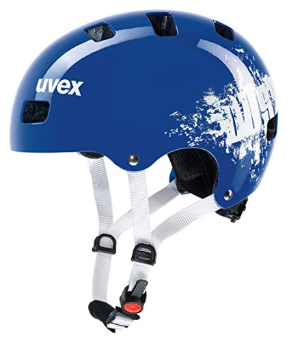 Uvex Kinder Kid 3 Fahrradhelm, Blau (royal blue dust), 51-55 cm