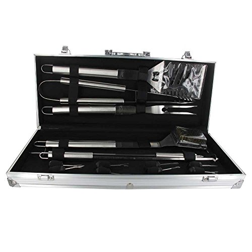 Oliphant 2253 BBQ Tool Set - Black (14-Piece)