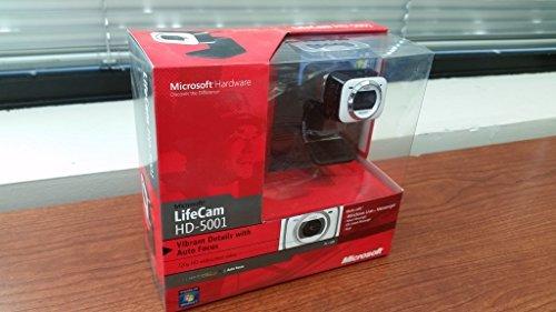 Microsoft LifeCam hd-5001-Web-Kamera-Farbe-Hi-Speed USB
